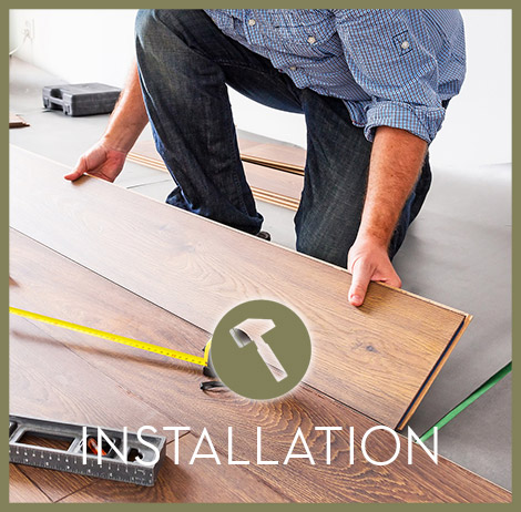 We have a full staff of professional Installers at the ready. If you are looking for new flooring then you've come to the right place.